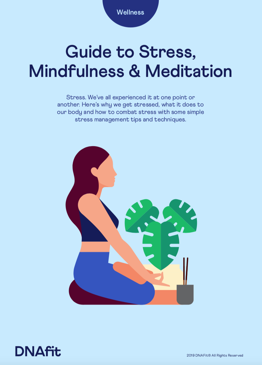 Stress mindfulness and meditation guide cover